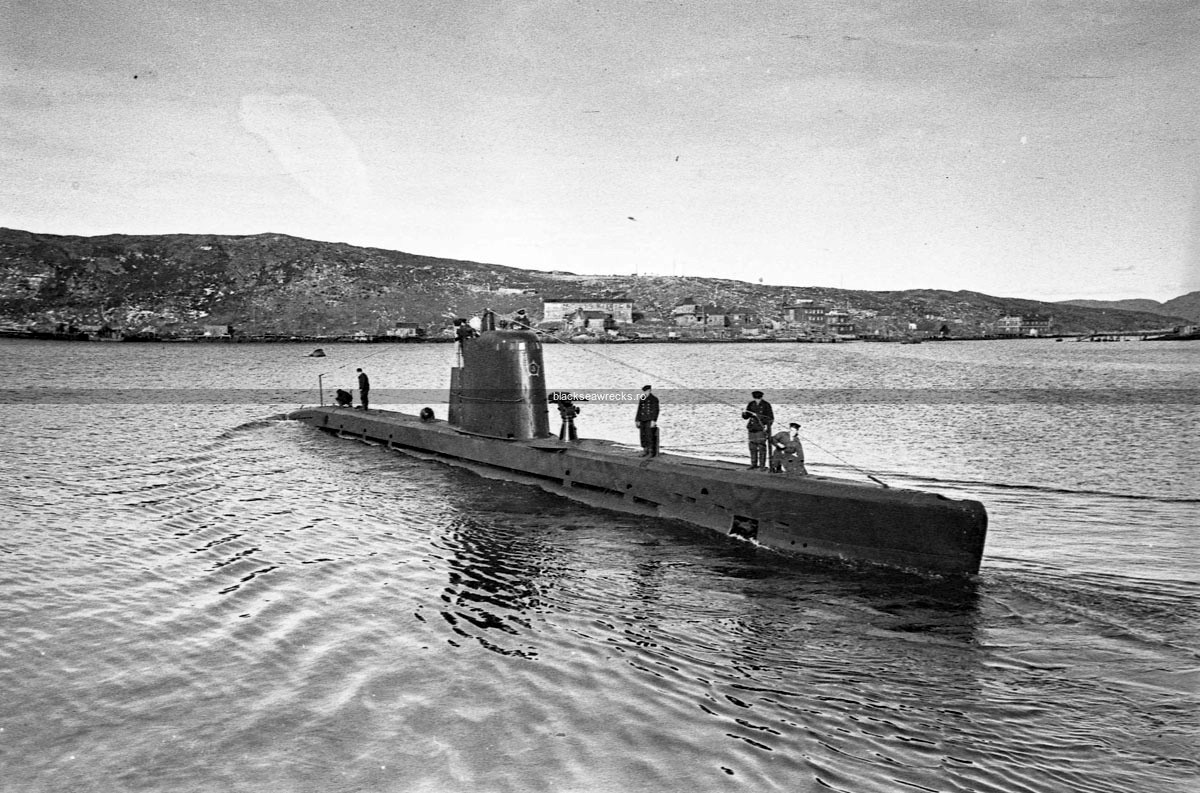 M-173, a Malyutka model XII submarine